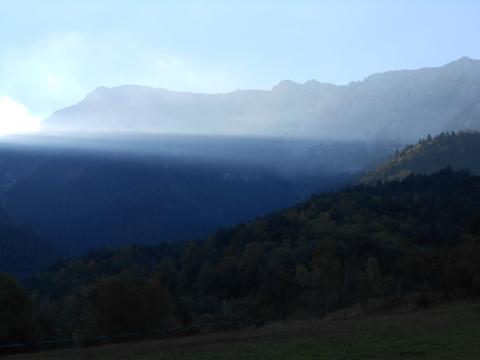 Serra del Cadí. De bon matí