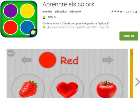 Aprendre els colors